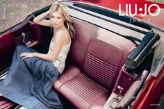 Kate Moss for Liu Jo Jeans Spring/Summer 2013 Campaign