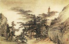 Zou Jie [邹拮 - 山水图]. Китайские художники средних веков