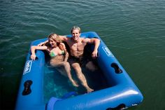 Floating Hot Tub Extreme water toys – Cottage Life