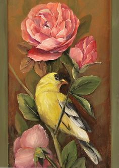 The Male Goldfinch Alla Prima Painting Lesson 5 of Direct Painting Techniques(http://www.jansenartstore.com/products/DVD4010-Direct-Painting-Techniques.html)