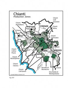 ITALY WINE MAP: Chianti Get the latest wine news and trends all the way from USA, Australia, and New Zealand! Get to know your favorite types of wine with us!