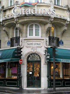 Art nouveau--PARIS : immeuble construit par Constant Lemaire en 1908