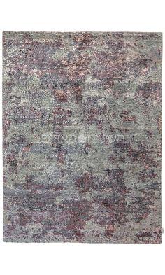 Sale Gray Blue Handmade Rug Abstract Carpet 6 6x9 8 Ft