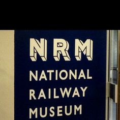 Bring back the old logo of the National Railway Museum, York National Railway Museum, National Museum, Rail Transport, Old Logo, Science Museum, Like A Local, Yorkshire, Stuff To Do, Old Things