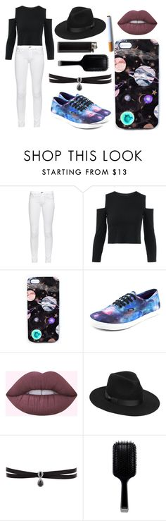 """""""Crawling Back To You"""" by elizz-denne ❤ liked on Polyvore featuring rag & bone, Nikki Strange, Vans, Lack of Color, Fallon and GHD"""