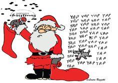 Basta con i soliti biglietti d'auguri natalizi  Accompagna i tuoi regali con un biglietto davvero originale che lascerà chiunque a bocca aperta!  Sono felice di combinare spedizioni in tutto il mondo, quindi assicuratevi di vedere quali altre stampe  che ho in negozio .......