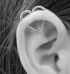 ★☯★ ear heart piercing ★☯★