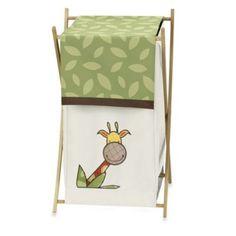 Sweet Jojo Designs Jungle Time Laundry Hamper - BedBathandBeyond.com