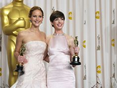 """What Dress Would You Wear To The Oscars? """"Jennifer Lawrence's red bomb"""" This is Jennifer Lawrence's first Oscar gown, and we all know what awesomeness followed. You will be the coolest, most effortless girl on the red carpet!"""