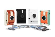 Lomography's First-Ever Instant Camera Comes With Real-Life Filters - DesignTAXI.com