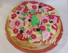 Pizza cake (dort pizza)