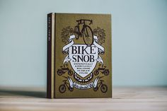 Isadore Apparel - Bike Snob - Bike Snob is an essential volume for anyone who knows, is, or wants to become a cyclist. #isadoreapparel #roadisthewayoflife #cyclingmemories #book