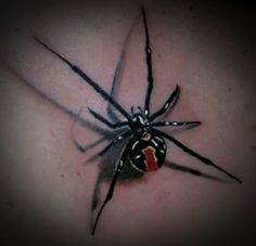 The Spider tattoo designs comes in various forms like ink spider tattoo designs , effect tattoo designs and other amazing and cool forms. 3d Tattoos, Badass Tattoos, Small Tattoos, Tatoos, Awesome Tattoos, Sweet Tattoos, Spider Web Tattoo, Tattoo Designs, Tattoo Ideas