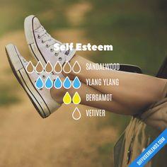 Self Esteem - Essential Oil Diffuser Blend