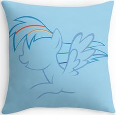 My Little Pony Rainbow Dash Pillow