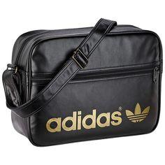 10803bb084 Adidas Originals Adicolor Backpack - Black Gold Gold Adidas