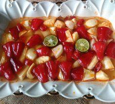 Resep Asinan Buah Yang Lagi Hits Di Instagram Makanan Makanan Dan Minuman Manisan Buah