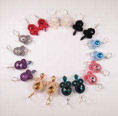 Kolczyki Sutasz / Soutache earrings