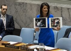 Only a week ago, Trump's ambassador to the United Naitons, Nikki Haley, was...