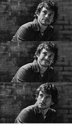 Hugh Dancy. A second season split second smile.  Hannibal.