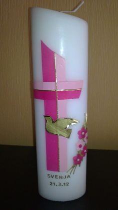 Modernes Kreuz in pink
