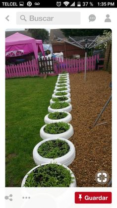 48 Cheap And Beautiful Diy Planters Ideas For Beautiful Garden Diy Planters, Outdoor Decor, Beautiful Gardens, Stepping Stones, Old Tires, Outdoor Garden, Outdoor Garden Decor, Plants