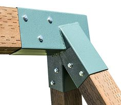 Squirrel Products A-Frame Swing Set Bracket – For 2 Legs & 1 Beam – Includes Installation Hardware Swing Set Brackets, A Frame Swing Set, Porch Swing Frame, Swing Set Accessories, Hammock Stand, Outdoor Toys, Wood Beams, Squirrel, Wood Projects