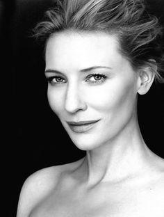 Australian actress Cate Blanchett. Born Catherine Élise Blanchett 14 May 1969, Melbourne.