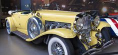 The Great Gatsby car used in Warner Bros film, image available through Creative Commons