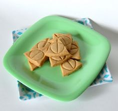 Deathly Hallows Brown Sugar Shortbread - just because it has something to do with Harry Potter!