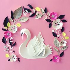 Paper Crafts = Hanna Nyman Paper poetry by Stockholm based designer and print…