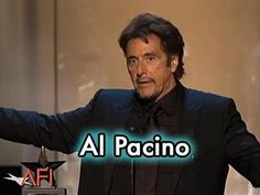 Wee Accept All Kinds Here! Al Pacino Accepts the AFI Life Achievement Award in 2007