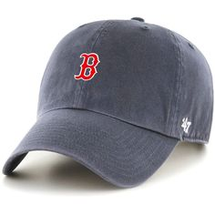 '47 Brand Boston Red Sox Vintage Navy Clean Up Hat
