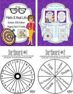 October 2015 Math IS Real Life - family competition.  FREEBIE!