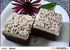 Čokojogurtové řezy s kokosovým krémem recept - TopRecepty.cz Krispie Treats, Rice Krispies, Love Chocolate, Dessert Recipes, Desserts, Sweets, Cooking, Food, Scrappy Quilts