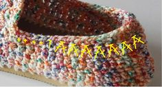 Armarinho São José: Alpargatas de crochê com a linha Caribe Crochet Shoes, Crochet Slippers, Huaraches, Free Crochet, Crochet Patterns, Crafts, Accessories, Jewelry, Fashion