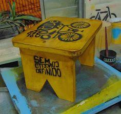 Sem Conceito Definido: BANQUINHO BIKE LETS GO RIDE