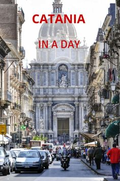 Catania, Sicily - what to see in Sicily's port city if you only have one day #sicily #catania #guide