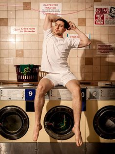 Aaron Taylor-Johnson makes us look forward to laundry day. so happy about this. really.