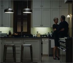 Kitchen in House of Cards. #tvshowkitchen