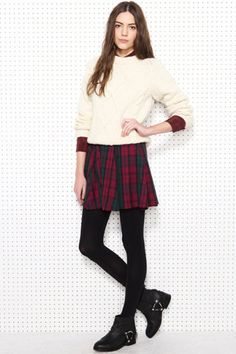 Urban Renewal skater skirt + 9 more tartan finds we LOVE