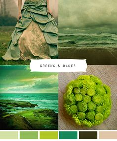 Greens and Blues #green #blue