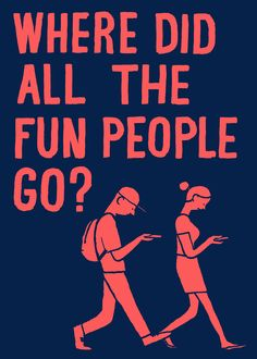 Jean Jullien | Where did all the fun people go?
