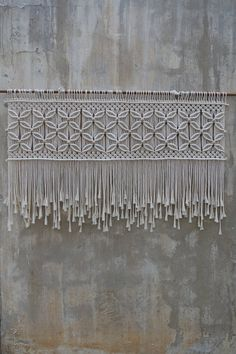 Large macrame wall hanging Modern macrame tapestry for boho home or wedding decor (no title) Tapestry, bedding art, macrame headboard, modern woven decor, bohemian wall artOver bed art macrame headboard modern woven decor bohemian Decor Over Bed, Art Over Bed, Diy Bed Headboard, Modern Headboard, Bohemian Wall Art, Bohemian Decor, Bohemian Homes, Tapestry Loom, Wall Tapestry