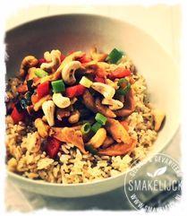 Thaise kip siam Diy Food, Food Ideas, Grains, Dinner Recipes, Rice, Om, Plank, Pasta, Bulletin Boards