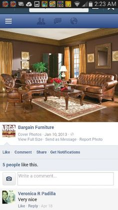 bargain living room furniture wall color combinations for 34 best images den decor dining sets set maria mendez