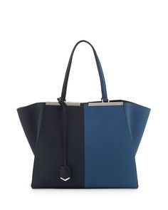 Trois-Jour Grande Leather Tote Bag - Fendi. Three days? MORE LIKE EVERY DAY UNTIL I DIE.
