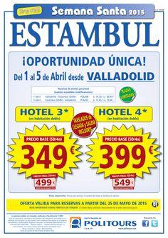 """ESTAMBUL """"S. Santa"""" salida 1 y 2 de Abril dsd vll,svq,bio,zaz y pmi (5d/4n) precio final desde 499€ ultimo minuto - http://zocotours.com/estambul-s-santa-salida-1-y-2-de-abril-dsd-vllsvqbiozaz-y-pmi-5d4n-precio-final-desde-499e-ultimo-minuto/"""