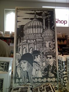 Biba Brighton poster