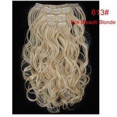 Material : Japan hightemperaturefiber Length : 20inch 50cmWeight : 120g(include clips) Color : Multicolor Hair Extension type : Full head hair Model number : 999 Item per package : 7Piece/set 1 pcs - 8 inch piece ( for the back of the head ) with 4 clips 2 pcs - 5 inch pieces ( for the back of the head ) with 3 clips 2 pcs - 3 inch pieces ( for the sides of the head ) with 2 clips 2 pcs - 1.5 inch pieces ( for the sides of the head ) with 1 clip Colored Hair Extensions, Clip In Hair Extensions, Long Curly, Hair Pieces, Hair Clips, Hair Color, Long Hair Styles, Model, Beauty